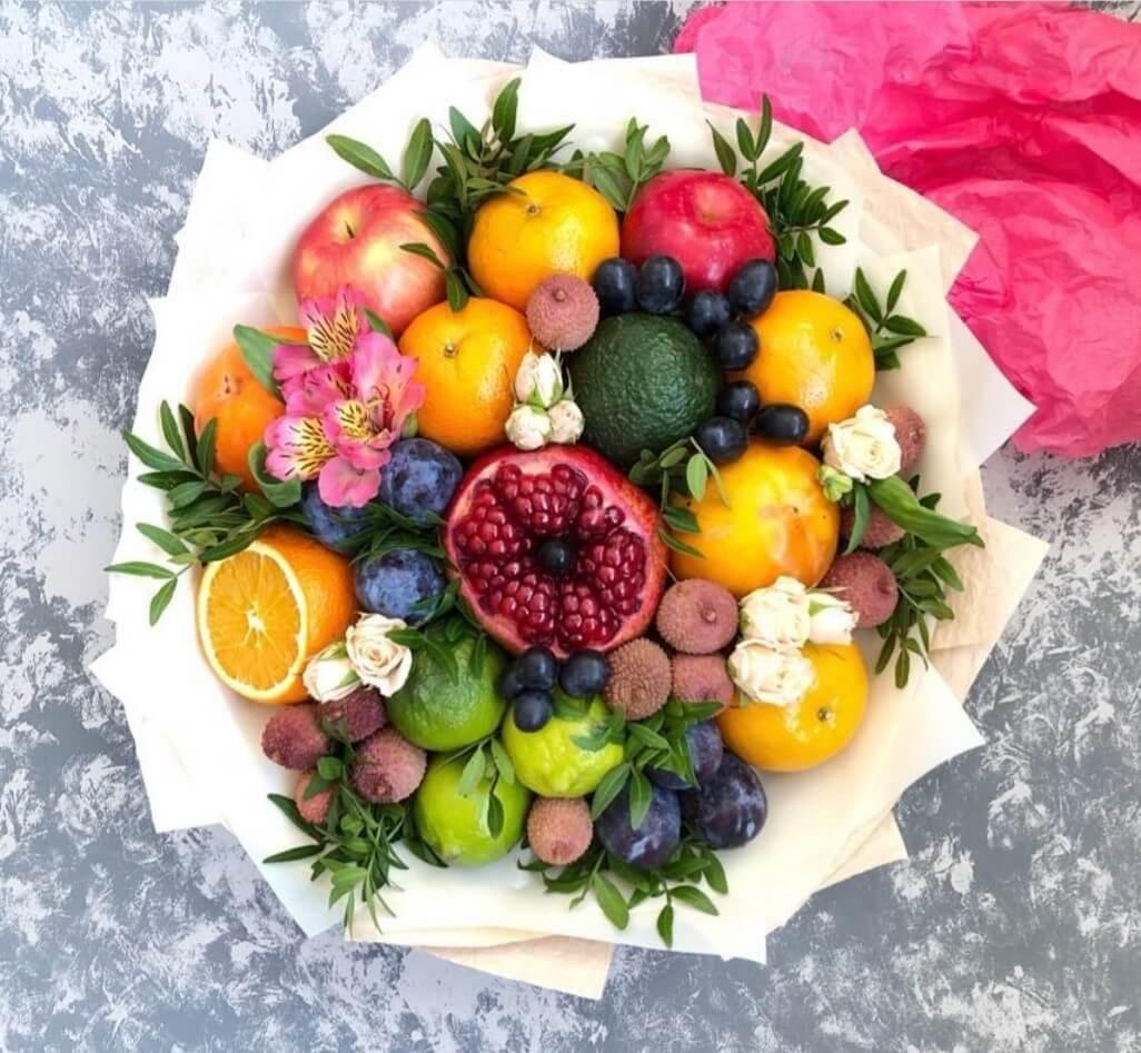 Доставка фруктовых букетов домодедово, цена доставкой