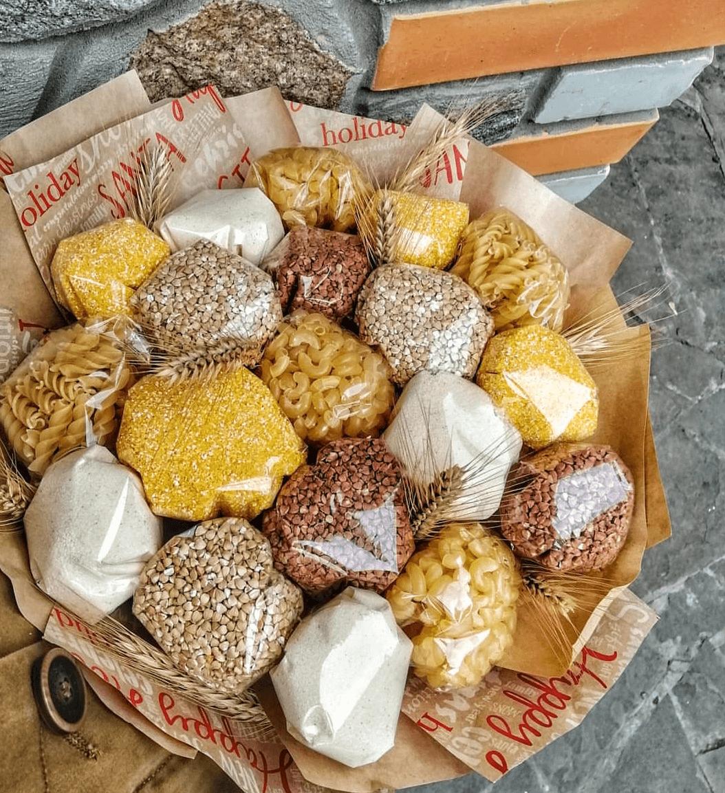 съедобные букеты в санкт петербурге